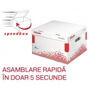 Container de arhivare cu capac L Speedbox Esselte