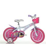 """Dječji bicikl Barbie 14"""" - rozi"""