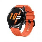 Huawei Watch GT 2 Reloj Inteligente, 46mm, 3D Glass Screen, Bluetooth, Naranja