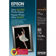 EPSON CARTA FOTOGRAFICA LUCIDA ULTRA 13X18 50FG