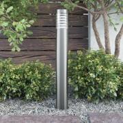vidaXL Външна лампа на стойка от неръждаема стомана