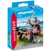 Playmobil Special Plus - Caballero Con Cañon - 9441