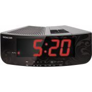 """SRC 108 S Ébresztőórás rádió 1,2 """" piros színű LED-kijelző"""