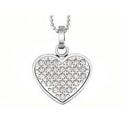 Halsband Inori Sparkly Heart – utan gravyr
