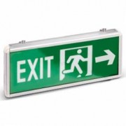 Lampa indicator in lateral EXIT emergenta