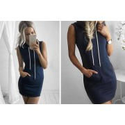 Suzhou Dashijie Electronics Co., Ltd £9.99 instead of £29.99 for a hooded jumper dress - choose from three colours from Secretstorez - save 67%