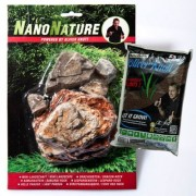 NanoNature Lichte Pagode Set - 5 Stenen + 3 Liter NatureSoil Bruin, Fijn