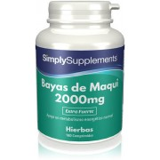 Simply Supplements Bayas de Maqui - 180 Comprimidos