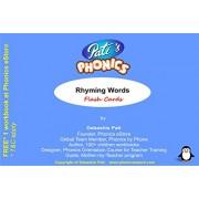 Pati's Phonics Rhyming Words Flash Cards