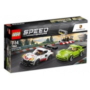 LEGO Speed Champions, Porsche 911 RSR si 911 Turbo 3.0 75888
