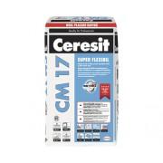 Adeziv flexibil Ceresit CM17 pentru gresie si faianta 25 kg
