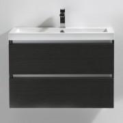 Thalassor Meuble de salle de bain 80 cm CITY Finition gris