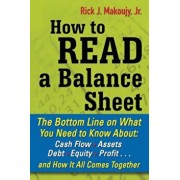 How to Read a Balance Sheet: The Bottom Line on What You Need to Know About: Cash Flow, Assets, Debt, Equity, Profit... and How It All Comes Togeth, Paperback/Rick Makoujy