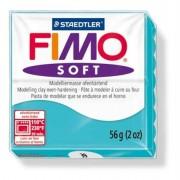 Gyurma, 56 g, égethető, Fimo Soft, borsmenta (FM802039)