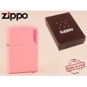 Zippo - öngyújtó matt rózsaszín -Nyugdíjbavonulási ajándék