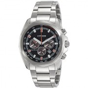 Citizen Eco-Drive Analogue Black Dial Mens Watch - CA4220-55E