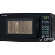 Cuptor cu microunde Sharp R642BKW-00, functie grill, nefru
