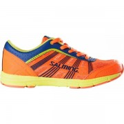 Salming Speed Shoe Kids - Unisex - Oranje - Grootte: 34 2/3