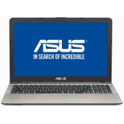 Laptop Asus X541NA-GO008, Intel Celeron N3350, 2.4 GHz, 15.6 inch, 4GB DDR3, HDD 500 GB, negru