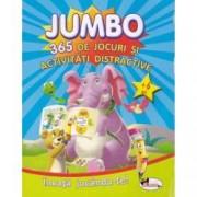 Jumbo 365 de jocuri si activitati distractive 6 ani+