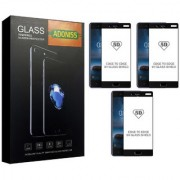 Adoniss 5D [9H] Edge to Edge Premium Tempered Glass Mobile Screen Protector for [Black Color] Nokia 8