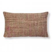 Kave Home Capa de almofada Boho 30 x 50 cm rosa