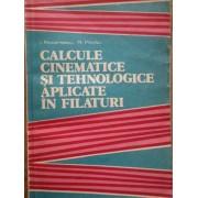 Calcule Cinematice Si Tehnologice Aplicate In Filaturi - I. Rotarescu R. Parau