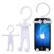 Flexible Cellphone Holder Hanger Mount Made of Silicon-Fit for iPhone Samsung Galaxy Any other Smartphone