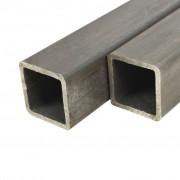 Sonata 6 бр кухи пръти конструкционна стомана квадратни 2м 25x25x2мм