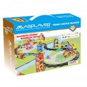 JOC DE CONSTRUCTIE MAGNETIC - 99 PIESE - MAGPLAYER (MPK-99)