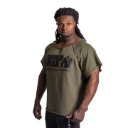 Gorilla Wear Classic Work Out Top - Army Green - L/XL