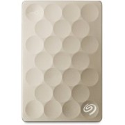 Seagate 2 TB Wired External Hard Disk Drive(Gold, Mobile Backup Enabled)