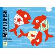Joc acvatic cu carti Spidifish Djeco