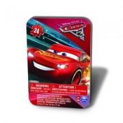 PUZZLE CARS3 IN CUTIE DE METAL 24 DE PIESE