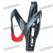 Porta Botella para bicicleta de fibra de vidrio - Negro