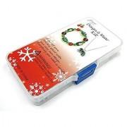 Linpeng HK-07 Hand Painted Beads Christmas Jewelry DIY Kit