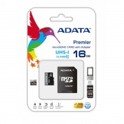 Card memorie micro SD 16 gb clasa 10 si adaptor ADATA