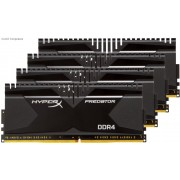 Kingston HyperX Predator (T2) 16GB(4x4GB) DDR4 2666MHz CL13 1.35V Desktop Memory Module