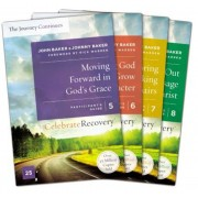 Celebrate Recovery: The Journey Continues Participant's Guide Set Volumes 5-8: A Recovery Program Based on Eight Principles from the Beatitudes, Paperback