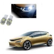 Auto Addict Car T10 5 SMD Headlight LED Bulb for Headlights Parking Light Number Plate Light Indicator Light For Tata 45X