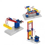 Toys Educational Construction Engineering Blocks for Boys and Girls,68 Piece Set for Building Endless Combinations, Great for Learning & Having Fun, Build Your Imagination Today-Elevator
