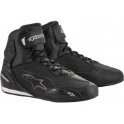 Alpinestars Faster-3 Motorcycle Shoes Black 45 46