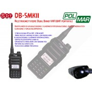 POLMAR DB-5MKII DUAL BAND VHF/UHF 5,5W IN VHF, 4,5W IN UHF