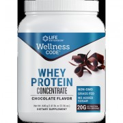 Wellness Code® Whey Protein Concentrate , Chocolate, 640 grams
