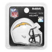 Mini Capacete Riddell Los Angeles Chargers - Unissex