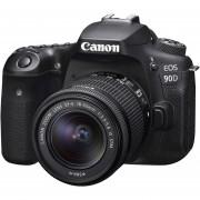 Camara Reflex Canon 90D con lente 18-55mm. SD 32gb. 32.5mp Grabacion 4k