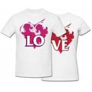 Комплект футболок *Love*