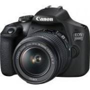 Canon EOS 2000D + EF-S 18-55mm f/3,5-5.6 IS II + torba SB130 + karta 16GB