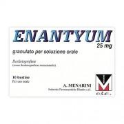 A.MENARINI IND.FARM.RIUN.Srl Enanty, 25 Mg Granulato Per Soluzione Orale 10 Bustine Al/pe Monodose