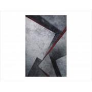 Tepih Diamond 22332-950 Siva / Crvena